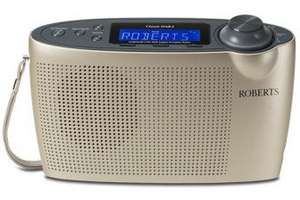 Roberts Classic DAB 2 Digital Portable Radio 50% OFF £22.89 delivered @go-electrical.co.uk