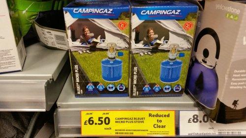 Campingaz Bleuet Micro Plus Stove £4.50 @ Tesco Extra (Prescot)
