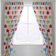 ColourMatch Kids'Curtains (stars/stripes/spots/colours) 168 x 137cm. £2.99 - £4.99 @ Argos (FREE C&C)