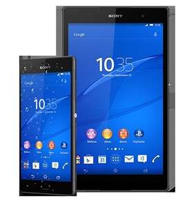 Sony Xperia Z3 and Z3 Compact Tablet for £25 per month (24 mth contract with Virgin Mobile) £600