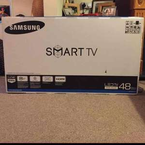 Samsung ue48j5500ak full hd smart led tv £239.50 @ Tesco - Culverhouse - Cardiff