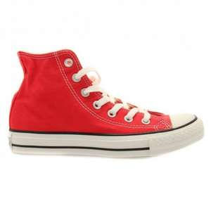 Converse red chuck Taylor all star hi £17 @ Hurleys