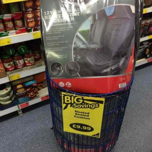 heated car cover £9.99 @ B&M
