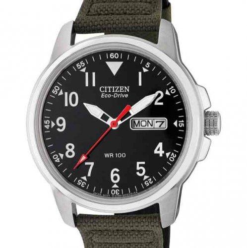 Citizen Men's Eco-Drive Canvas Strap Watch - £53.99 @ Argos (with voucher JEWEL10)