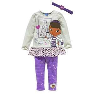 Disney Doc McStuffins Girls' Top & Leggings Set (was £9.99) Now £4.99 at Argos