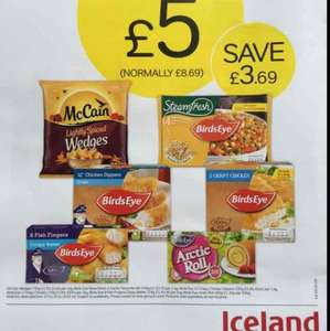 iceland Multibuy Frozen Meal Deal - £5.