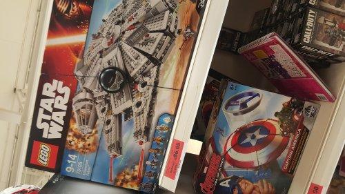 LEGO Star Wars Force Awakens Millennium Falcon 75105 £86.65 @ Sainsbury's Sunderland