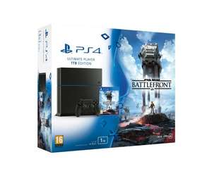 ps4 1tb with cod black ops 3 or starwars battlefront £289.99 amazon