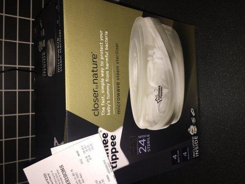 tommee tippee microwave steriliser £10 @ Morrisons - instore