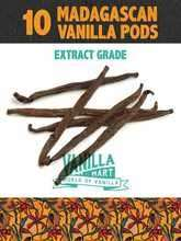 Extract Grade Vanilla Pods 10 for £3 / 20 for 4.50 + Free Delivery @ Vanilla Mart