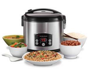 Hamilton Beach Digital Rice Cooker and Food Steamer, 4.75 Litre £18.81 prime / £23.56 @ Amazon