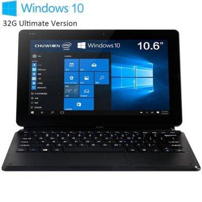 Chuwi Vi10 Ultimate Windows 10 Intel Cherry Trail Z8300 64bit Quad Core 1.44GHz 10.6 inch IPS Screen 2GB RAM 32GB ROM Bluetooth 4.0 Cameras £85.51 Flash Sale Price @ Gearbest