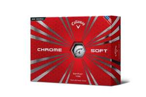 12 Callaway Golf 2015 Chrome Soft Golf Balls - £19.40  (Prime) / £24.15 (non Prime)  - Amazon