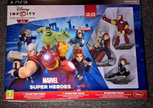 Disney Infinity 2.0 Marvel Super Heroes Starter Pack PS3/XBOX 360 £2.06 in Tesco Ballymoney