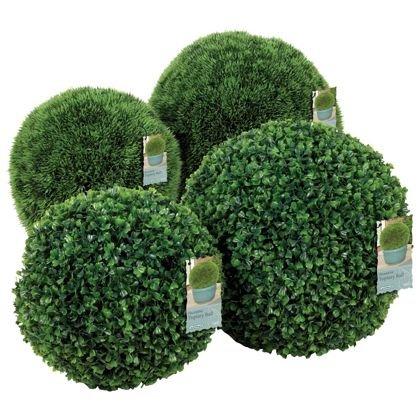 Artificial Buxus Ball - 40cm - £19.99 @ Homebase