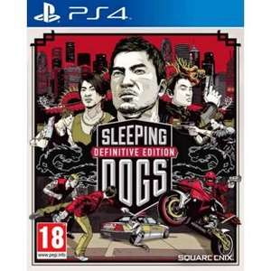 Sleeping Dogs Definitive Edition PS4 £8.99 @ Argos