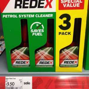 redex petrol system cleaner 3pack £3.50 @ asda in store