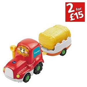 Toot toot tractor and trailer £3.99 from Argos