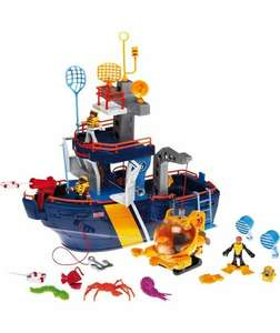 Fisher Price Imaginext Ocean Boat Reduced to £14.99 at Argos