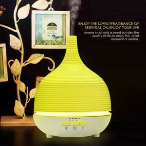 500ml Essential Oils Electronic Ultrasonic Cool Mist Diffuser/Humidifier - £15.99 - Sold by Zhongtuo Brightly and Fulfilled by Amazon.