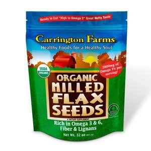 Carrington Farms Organic Milled Flax Seeds, 907g £3.37 at Costco