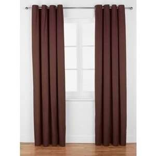 ColourMatch Lima Eyelet Curtains  - Chocolate £5.99 @ Argos