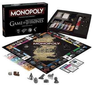 Monopoly Game of Thrones Deluxe Edition - £21.16 Amazon (Prime)