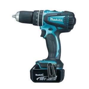 MAKITA DHP456SP1R 18V Combi Hammer Drill with  1X 4.0AH Li-on Battery and Case £119.96 at Anglia Tool Centre