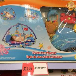 Winfun Ocean Fun Playmat £15 @ Morrisons Baby Event - In store