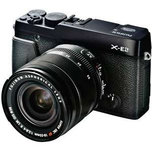 Fujifilm X-E2 Digital Camera with 18-55mm f/2.8-4 Lens (£535 with cashback) @ Wex Photographic