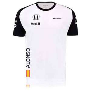 McLaren Honda Fernando Alonso t-shirts reduced from £35 to 2 for £5 plus postage (£4.95)