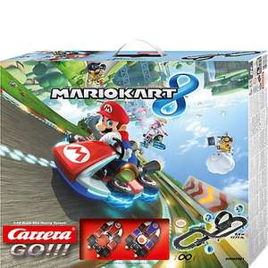 Nintendo Carrera GO!!! Mario Kart 8 Racing System Reduced now £13.99 at John Lewis  (C&C £2 / Delivery £3.50)