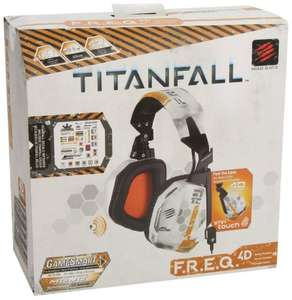 Titanfall Mad Catz F.R.E.Q.4D Headset (Mac/PC DVD) £24.99 delivered Sold by Mad Catz Europe and Fulfilled by Amazon