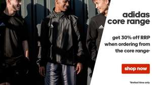 30% OFF Adidas Core Sports Wear @ acasports