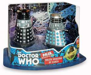"Doctor Who 3.75"" Dalek Invasion of Earth Collectors Pack £3.99 @ Toys R Us"