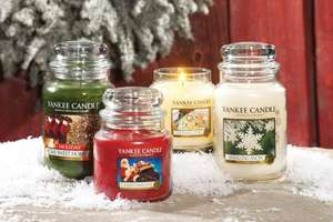 Yankee Candle Christmas Stock 50% off @ Beales