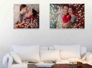 60 X 40 cm (A2) Photo Canvas £14.99 delivered with code @ Picanova.