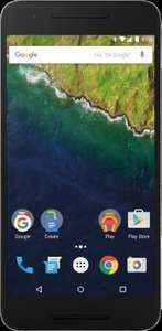 Nexus 6P 32GB Black Contract £21 per month with £65 upfront, Total = £569