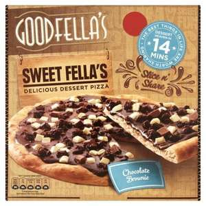 Goodfellas - Chocolate Fudge Brownie Pizza - £2 @ Tesco (until 07/03)