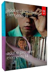 Adobe Photoshop Elements 14 & Premiere Elements 14 (PC/Mac) package £39.99 Deal of the Day @ Amazon