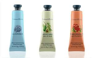 """free"" hand cream from Crabtree & Evelyn worth £5 Telegraph this weekend"