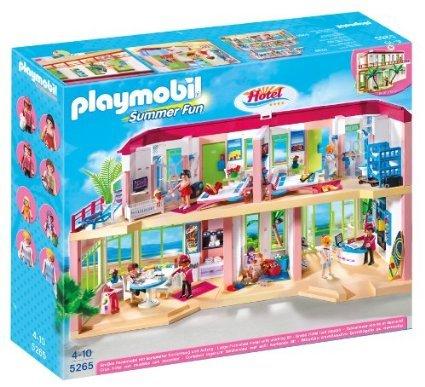 Playmobil 5265 Summer Fun Large Furnished Hotel £39.48 del @ Amazon