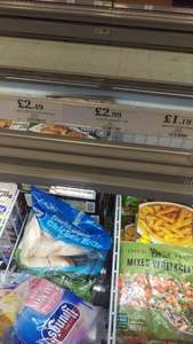 1 kg frozen chicken breast £2.99 at Home Bargains instore