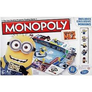 ** Despicable Me 2 Minions Monopoly Board Game £10.00 @ Tesco direct **