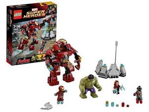 LEGO Superheroes 76031: The Hulk Buster Smash £21.80 @ Amazon