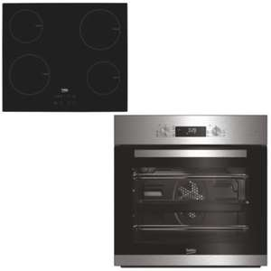 BEKO Fan Assisted Oven & Induction Hob @ B&Q