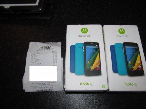 Motorola Moto G LTE Tesco Mobile £23.75 @ Tesco instore