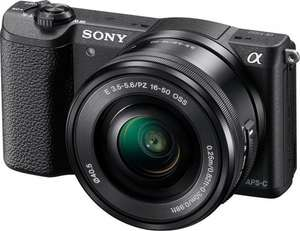 Sony A5100 with SELP16-50 kit lens £274 @ Amazon
