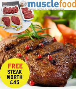 10 steaks £45 steak hamper + 5 issues of Men's Fitness mag USE DIRECT LINKS IN DESCRIPTION £5@ Dennis Publishing