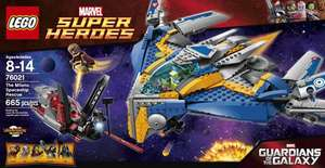 LEGO Super Heroes Milano Spaceship Rescue (76021) £59.99 @ Toys R Us